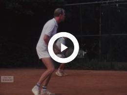 Keyframe of Fries kampioenschap tennis kwartfinale, voorjaar 1979