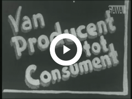 Keyframe of Van producent tot consument