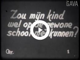 Keyframe of Leven en werken op de Dr. Bekenkampschool / C.R. Tiddens, 1947-1949