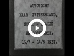 Keyframe of Autotocht naar Zwitserland / Italië / Oostenrijk 1937 (1)