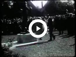 Keyframe of AV188 Koninklijk bezoek aan Meppel; waarschijnlijk T. Bos; 1950