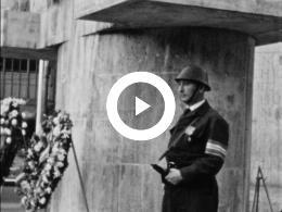Keyframe of AMATEUROPNAMEN JAN C. GROOT - Dodenherdenking en Bevrijdingsdag jaren 50