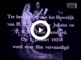 Keyframe of Huwelijk Juliana te Den Haag / M. Levie, 1-7-1937
