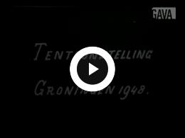 Keyframe of Tentoonstelling Groningen 1948, Feestelijkheden Wilhelmina/ Juliana 1948