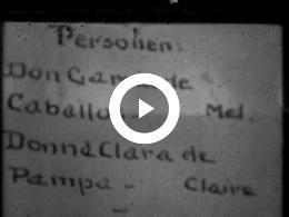 Keyframe of AMATEUR FILMDRAMA DE GEFOPTE SNOR ULFT 1926