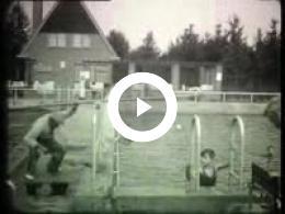 Keyframe of AV615 Parkzwembad Meppel.; T. Bos; tweede helft jaren '30