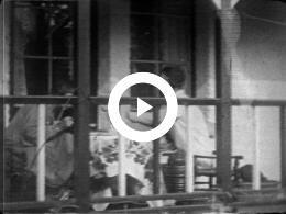 Keyframe of ZENO DEURVORST EN LIEDJE VAN DER HARDT ABERSON IN LINKEBEEK BELGIË 1926
