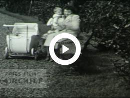 Keyframe of Familie en Schaatsen, 1942