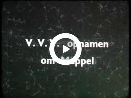Keyframe of AV132 VVV opnamen om Meppel; vermoedelijk J. Poortman; eind jaren '40