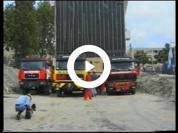 Keyframe of Een spectaculaire verhuizing in de Frederikstraat Crooswijk Rotterdam 22 mei 1997