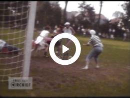 Keyframe of Gekostumeerd voetbal, 1980