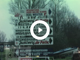 "Keyframe of Diverse dingen op jachtwerf ""de Polle"" in Grou, 1978-1979"
