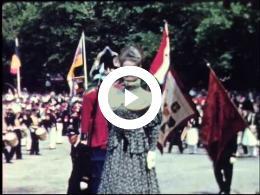 Koninklijk bezoek aan Maastricht, 11 juli 1959