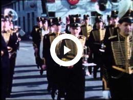 """Huldebetoon Harmonie """"De Gele Rijders"""" Maastricht 1961"""