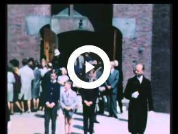 Begrafenis oma, mevr. van Vugt- Schweitzer, mei 1965