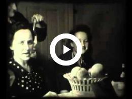 """Kerstmis 1934 """"Onze verloving"""" (familie Heerlen)"""