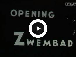 Keyframe of AV336 Opening zwembad De Boskamp te Westerbork op 15 mei 1966; vermoedelijk studio WHT; 15 mei 1966