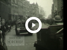 Keyframe of Parade in Leeuwarden, 1945