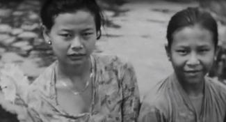 Indonesië portret inwoners door Emile Enthoven