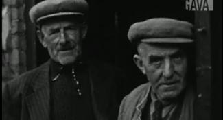 Still dorpsfilm Spijk J.W.L. Adolfs uit 1954