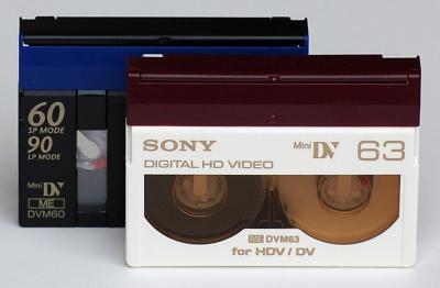 dv en hdv cassettes